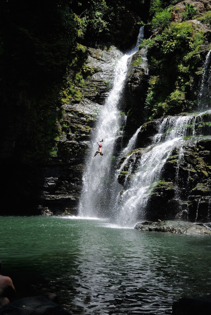 Cliff Jumping Review Of Montezuma Falls A Rica Tripadvisor