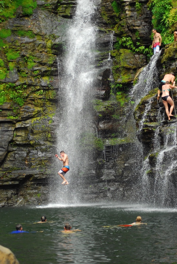 Extreme Waterfall Tour Costa Rica