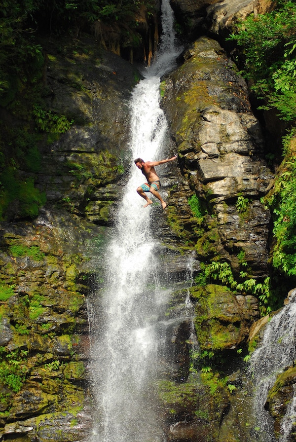A Rica Montezuma Waterfall Jumping